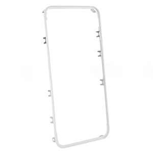 For iPhone 4 Supporting Frame Bezel Replacement - White