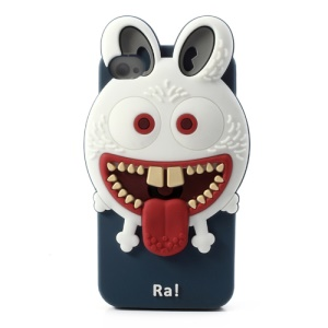 Airzooo Monster 3D Rabbit Silicone Protective Shell for iPhone 4 4S