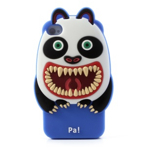 Airzooo Monster 3D Panda Silicone Shield Cover for iPhone 4 4S