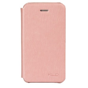 Pink KLD England Series for iPhone 4s 4 Leather Flip Cover