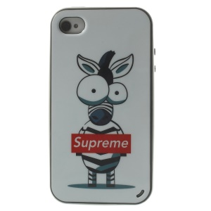 Supreme Donkey Detachable PC Frame + TPU Hybrid Case for iPhone 4s 4