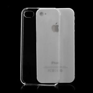 Transparent Clear Crystal Case Shell for iPhone 4 4S