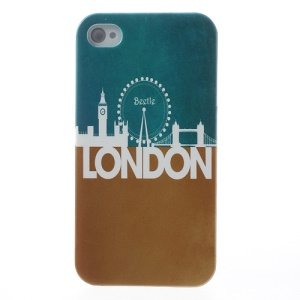 London Impression Plastic Cover for iPhone 4s 4
