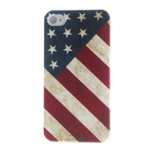For iPhone 4s 4 USA National Flag Protective Hard Case