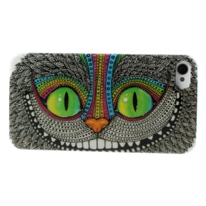Unique Owl Glossy Hard Shell Case for iPhone 4 4s