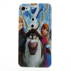 Frozen Princess Cartoon Poster Glossy Hard Plastic Case for iPhone 4 4s