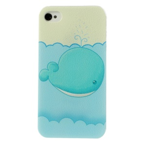Adorable Cartoon Hard Plastic Case for iPhone 4 4s