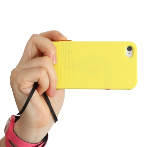 Bitplay SNAP! 5 Camera Case Hard Cover for iPhone 4s 4 - Yellow