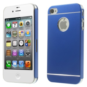 Dark Blue for iPhone 4s 4 Slim Hard Metal Protective Case