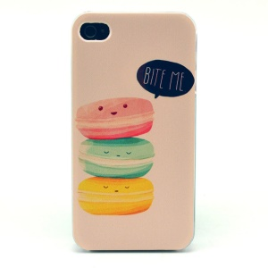BITE ME Plastic Hard Shell for iPhone 4s 4