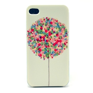 Colorful Balloon Plastic Case Shell for iPhone 4s 4