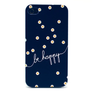 Daisy & Happy Plastic Back Case for iPhone 4s 4