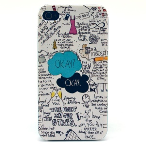 THE FAULT IN OUR STARS Plastic Back Phone Shell for iPhone 4s 4