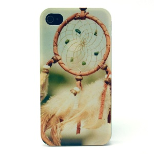 Aeolian Bell Plastic Protective Case for iPhone 4s 4