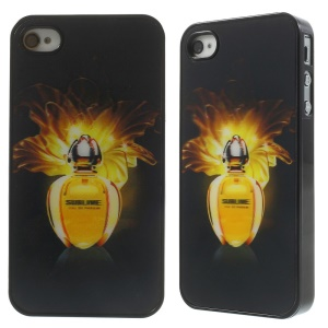 3D Three Dimensional Effect Perfume Bottle Hard Case for iPhone 4 4s