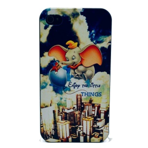 For iPhone 4s 4 Plastic Back Shell - ENJOY THE LITTLE THINGS