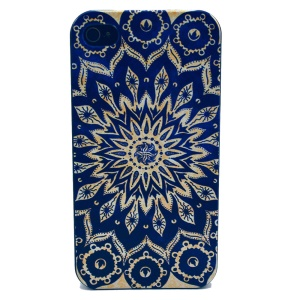 For iPhone 4s 4 Plastic Case Shell - Mandala Pattern