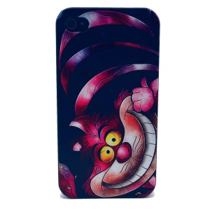 For iPhone 4s 4 Plastic Cover Shell - Funny Animal Pattern