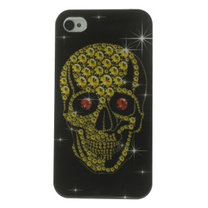 Cool Skull Pattern TPU Gel Case for iPhone 4s 4