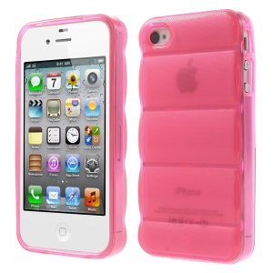 Rose for iPhone 4s 4 Body Armor Design TPU Case Protector