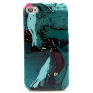 Two Wolves TPU Case Shell for iPhone 4 4s