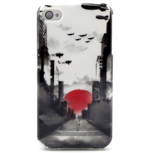 Wash Painting TPU Case Accessory for iPhone 4 4s