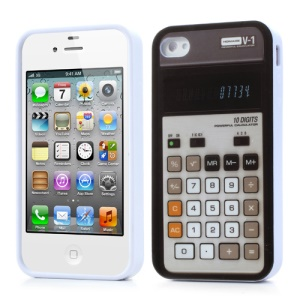 Vivid Calculator Jelly TPU Case for iPhone 4 4S