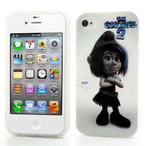 The Smurfs 2 Lovely Vexy IMD TPU Case Shield for iPhone 4 4S