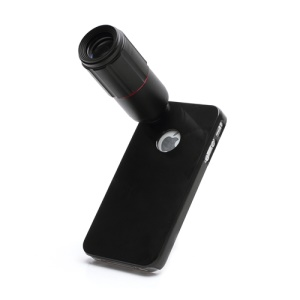 8X Optical Zoom Telescope Camera Lens with Hard Case for iPhone 4 4S