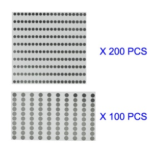 iPhone 4S Volume Power Button Metal Spacer Shim Kit 300pcs/Lot