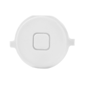 Home Menu Button Key Replacement for iPhone 4S - White