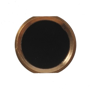 iPhone 5s Style Home Button Replacement for iPhone 4s - Gold / Black