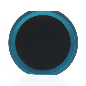 iPhone 5s Style Home Button Replacement Part for iPhone 4S - Blue / Black