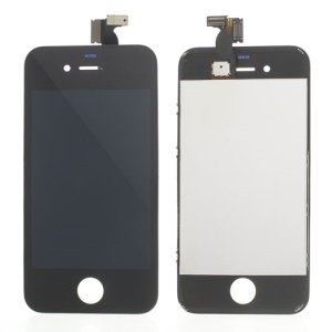 LCD Touch Screen Assembly Replacement Parts for iPhone 4S - Black