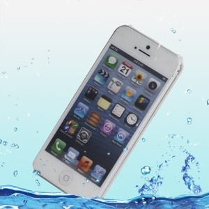 Water Resistant & Dirtproof Protective Soft Waterproof Skin Case for iPhone 5