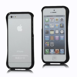 CLEAVE Deff Japan Aluminum Bumper Case Accessory for iPhone 5 - Black