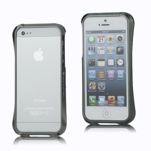 CLEAVE Deff Japan Aluminum Bumper Case Accessory for iPhone 5 - Grey