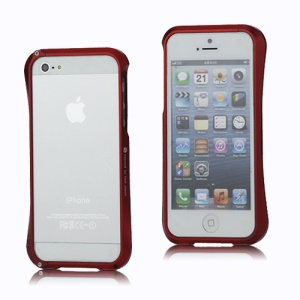 CLEAVE Deff Japan Aluminum Bumper Case Accessory for iPhone 5 - Red