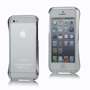 CLEAVE Deff Japan Aluminum Bumper Case Accessory for iPhone 5 - Silver