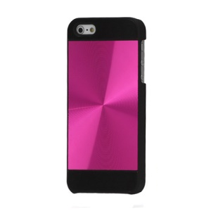 iPhone 5 Style CD Veins Metal Case Cover for iPhone 5 - Rose