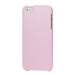 High Glossy Snap-on Hard Plastic Cover Case for iPhone 5 - Pink