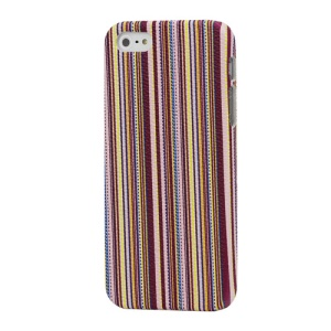Colorful Vertical Stripes Hard Skin Case for iPhone 5