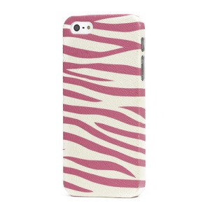 Zebra Stripe Cloth Coated Hard Case for iPhone 5 6th Generation