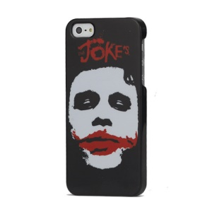 Joke&#39;s Face Pattern Design Hard Case Cover for iPhone 5