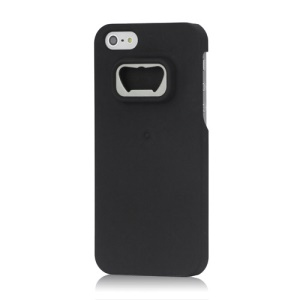 Superb Hard Protective Shell with Beer Bottle Opener for iPhone 5 - Black