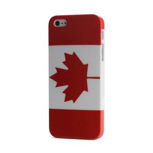 Brand New Canada National Flag Hard Plastic Skin Cover for iPhone 5