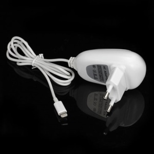 2.1A Wall Travel Charger for iPhone 5 / iPad 4 / iPad Mini / iPod Touch 5 / iPod Nano 7 - EU Plug