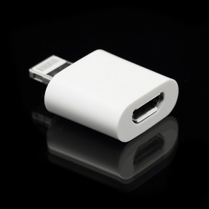 Lightning 8 Pin to Micro USB Connector Sync Charger Adapter for iPhone 5 iPod Touch 5