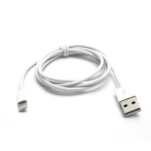 8pin Lightning USB Sync Data Charger Cable for iPhone 5s 5c 5 / iPod Touch 5 Nano 7 - White