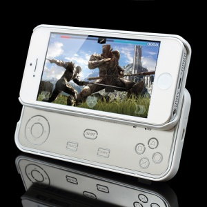 Slide Smart Wireless Bluetooth iCade Gamepad Controller with Case for iPhone 5